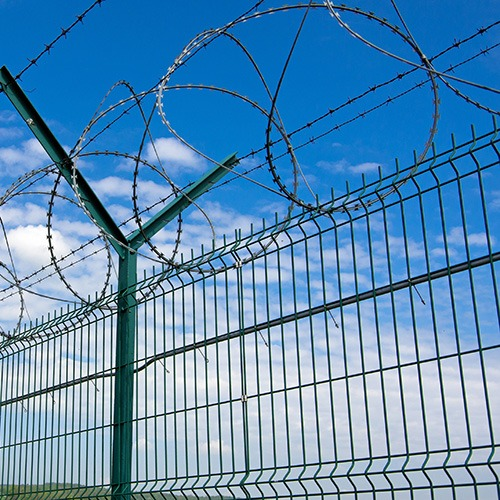 Barbed fence GC Metal
