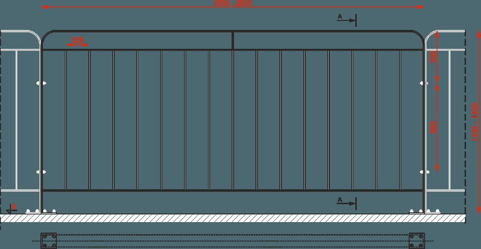 Bariera typ mostowy