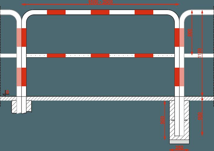 Bariera typ A typ U gdańska