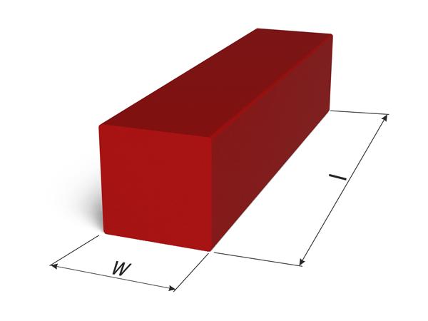 Square rod