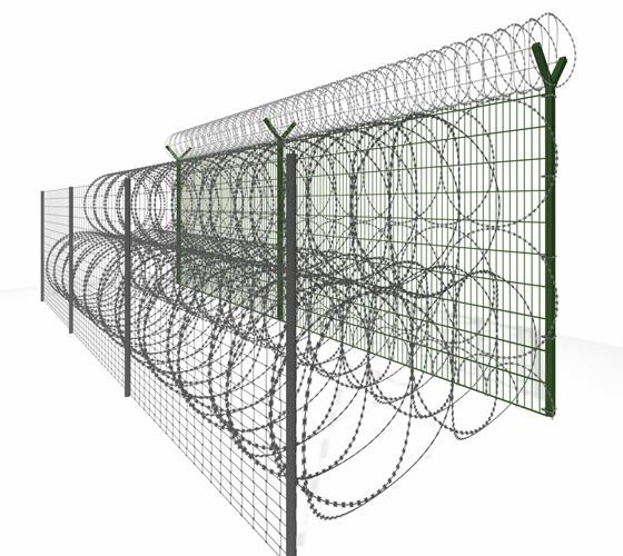 Ogrodzenie graniczne 2am
