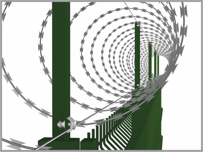 Zasieki spiralne