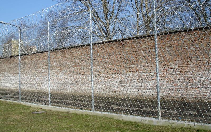 siatka ostrzowa ogrodzenie wiezienne2