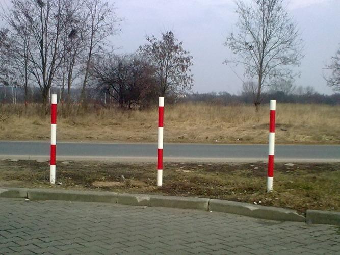 słupki parkingowe