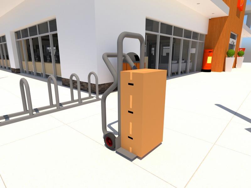 wózek do ładunków wysokich