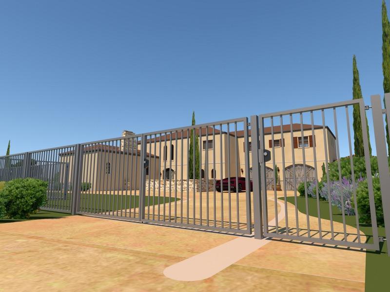 Ogrodzenie palisadowe Hadrian