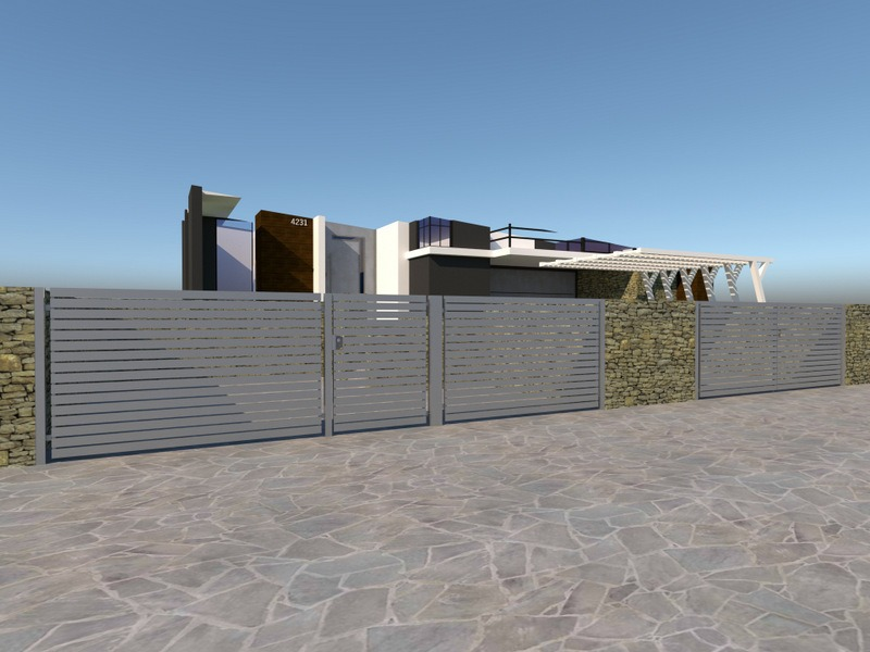 Ogrodzenie palisadowe Trajan