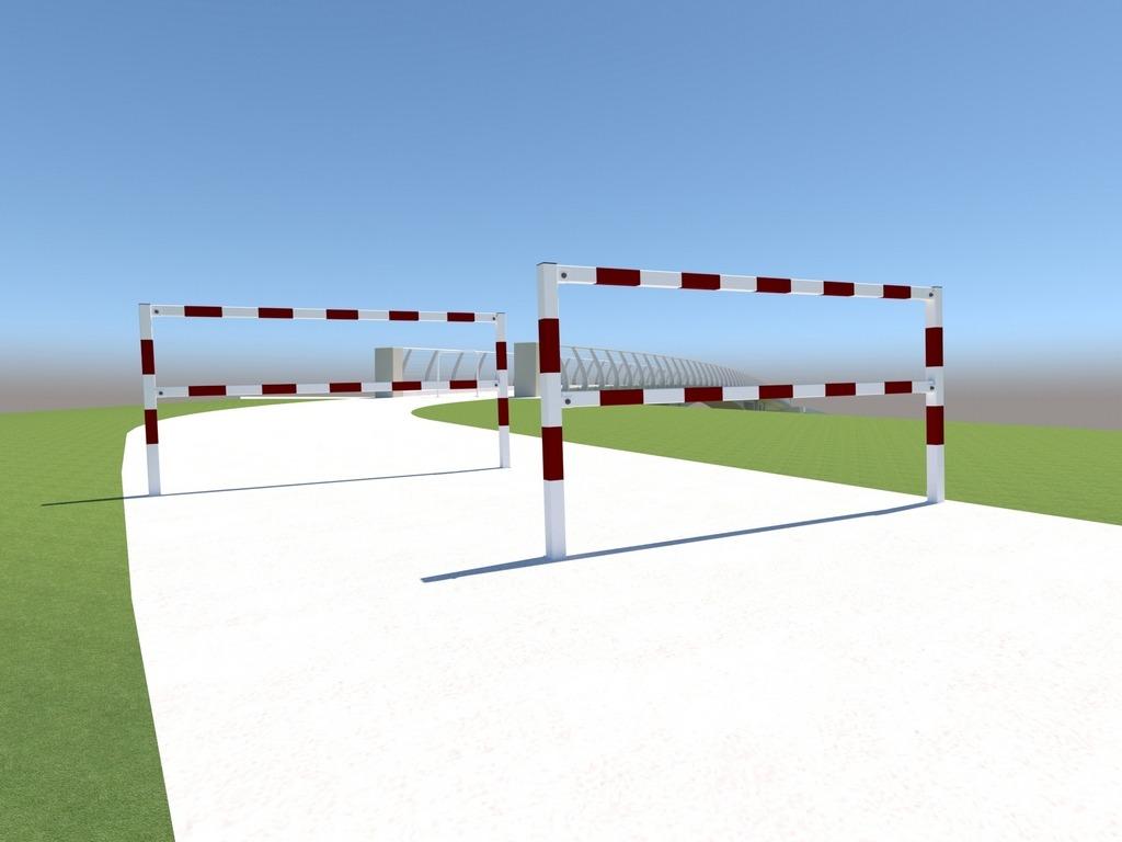 bariera demontowalna krótka