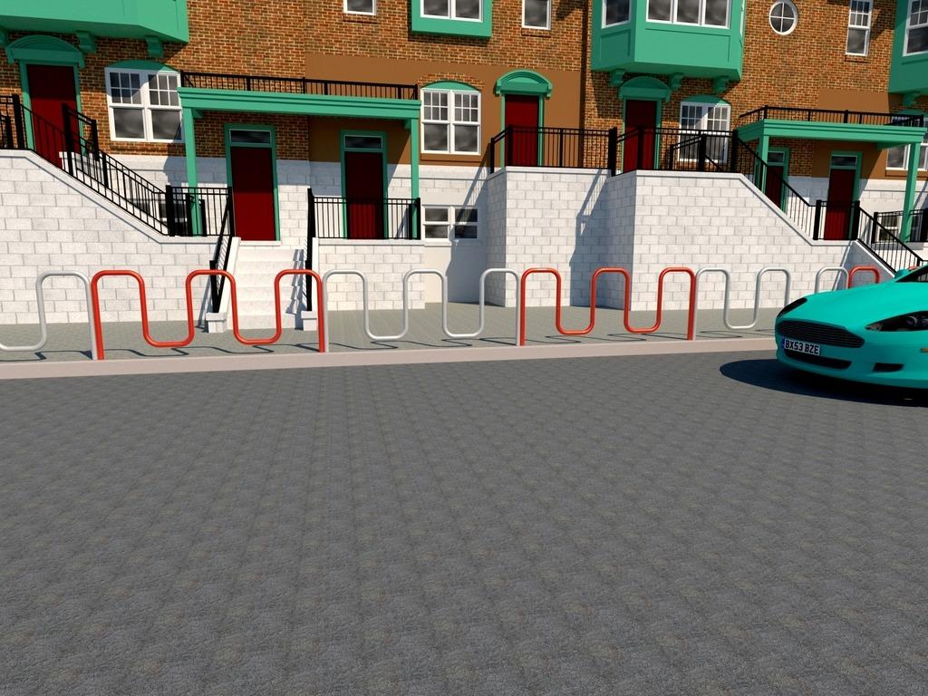 bariera miejska wąż