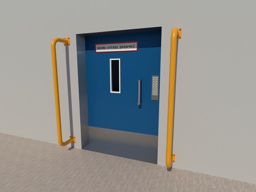 Odbojnica drzwi ewakuacyjnych
