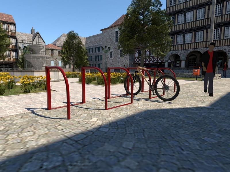 stojak rowerowy
