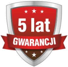 5 lat gwarancji ikona