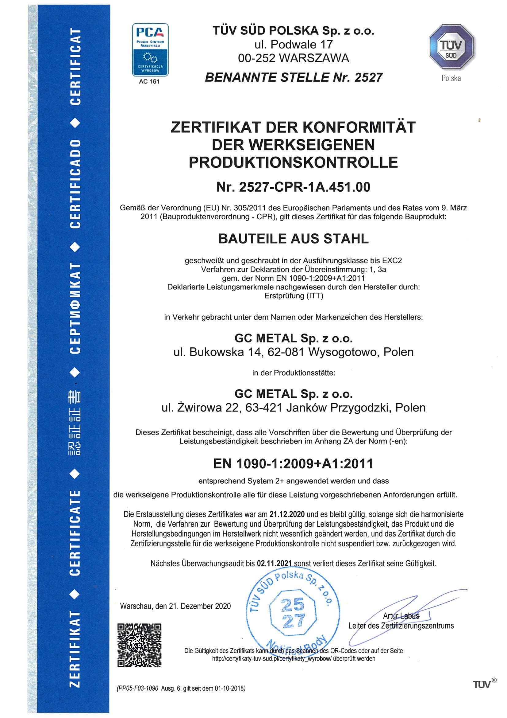 Certyfikat DE (2)