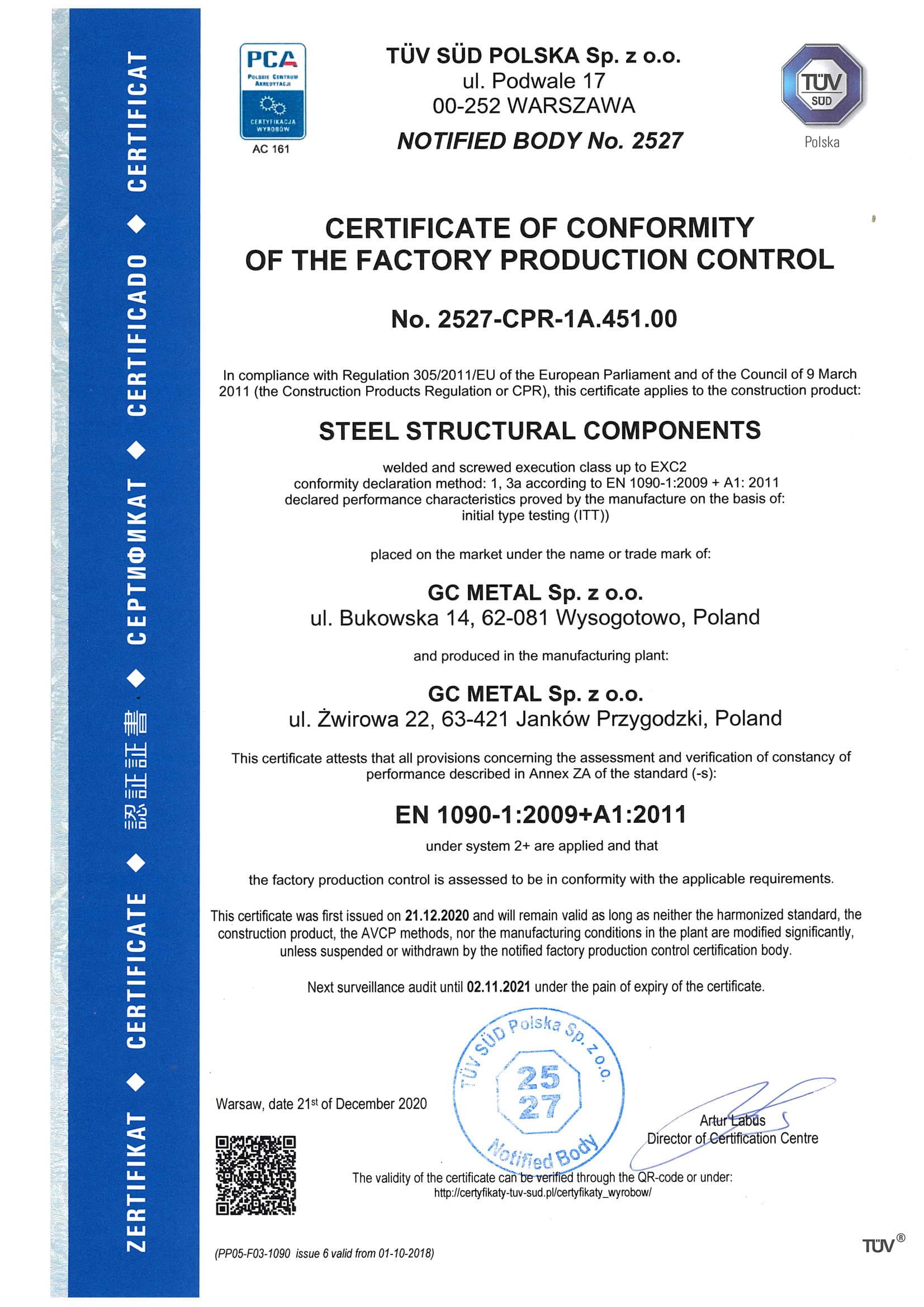 Certyfikat EN (2)